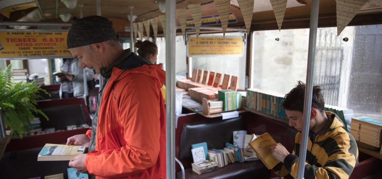 Ventnor Fringe Book Bus